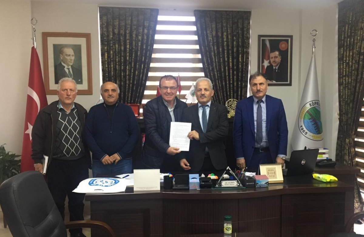 Trabzon-Köprübaşı Belediyesi ile SDS İmzaladık