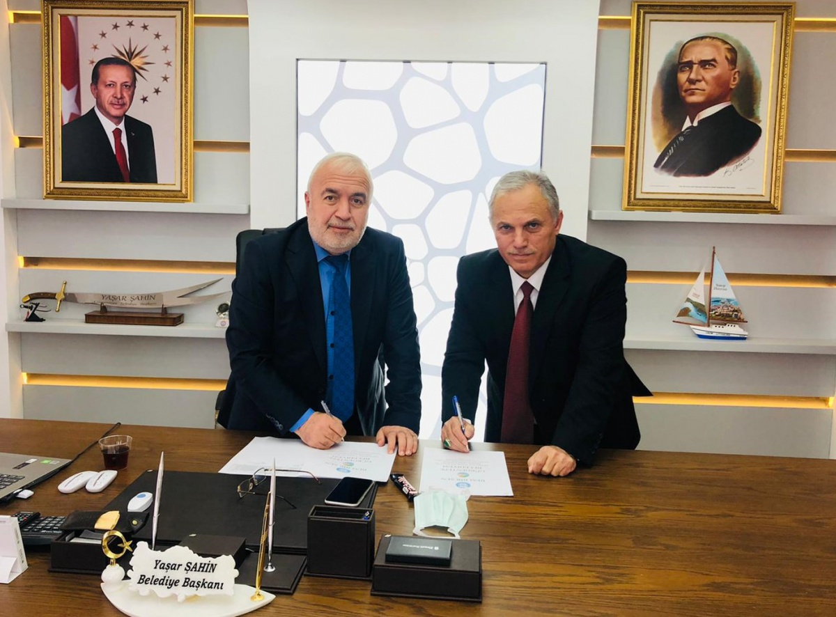Ordu-Gürgentepe Belediyesi ile SDS İmzalandık