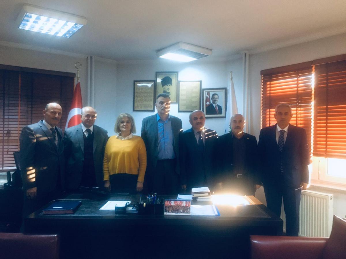 Ankara 1 No'lu Şube Başkanlığımız Teşkilat Çalışmalarında Bulundu