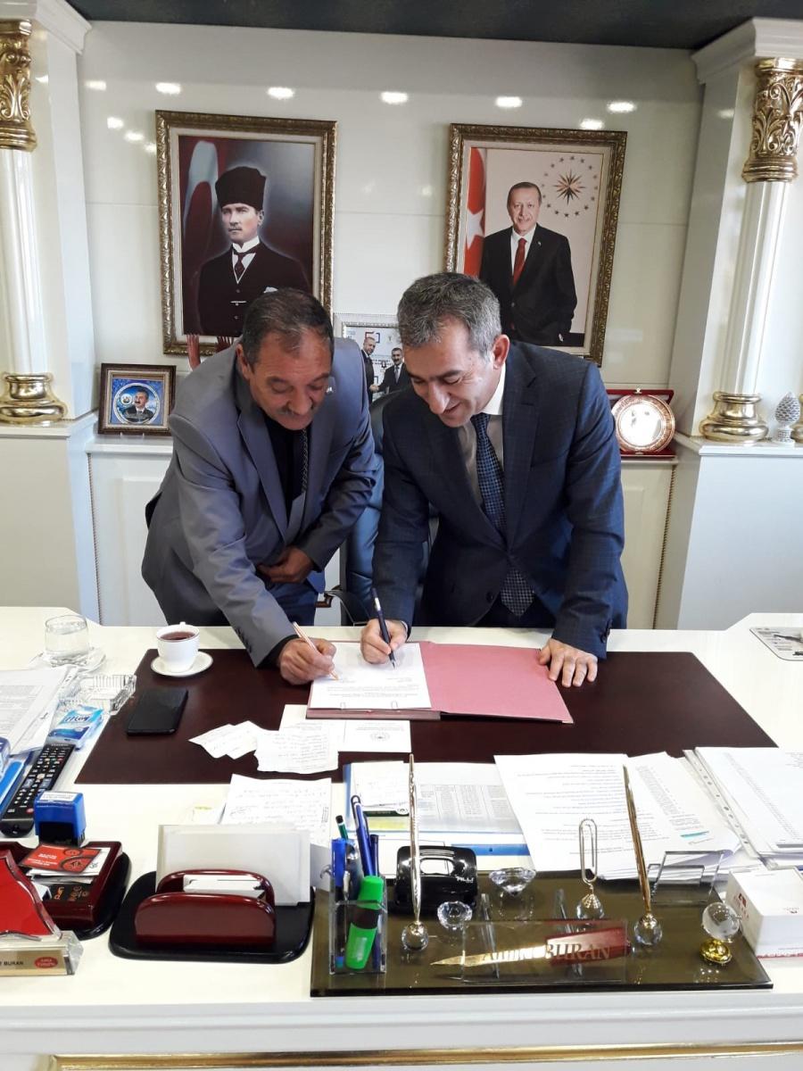 Ankara-Bala Belediyesi ile Yüzde Yüz Üzerinden SDS İmzaladık