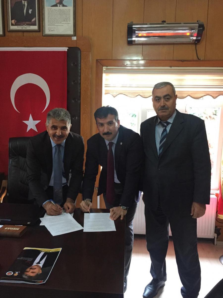 Kırşehir-Kurancılı Belediyesi ile SDS İmzaladık