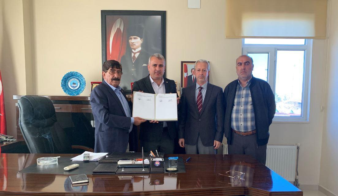 Şırnak-Güçlükonak Belediyesi ile SDS İmzaladık
