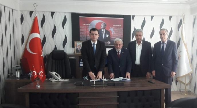 Van-Saray Belediyesi ile SDS İmzaladık