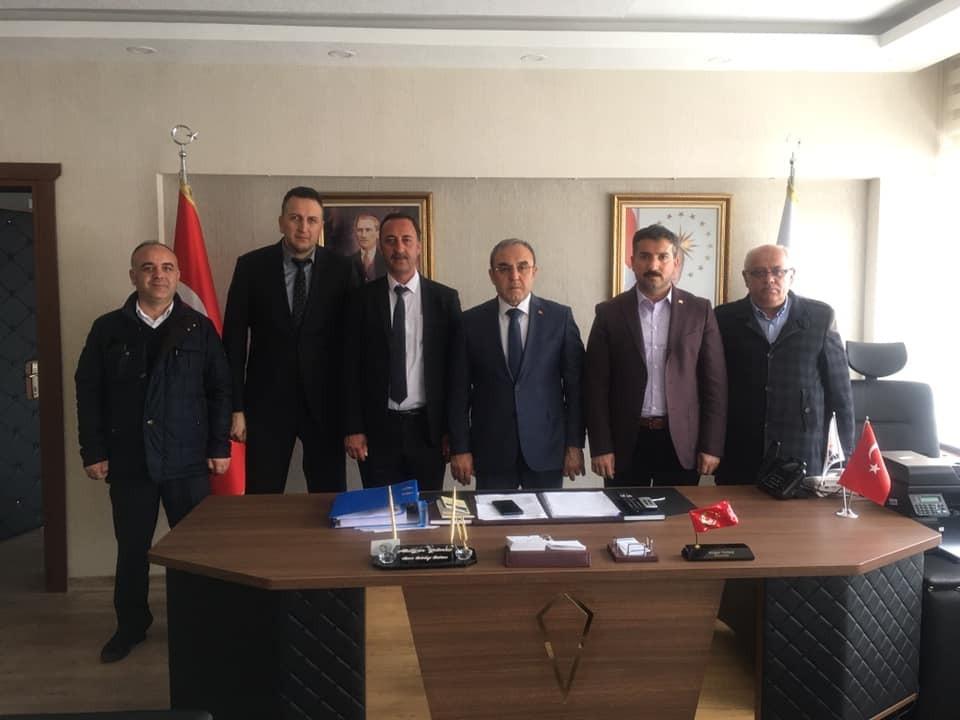 Kırşehir İl Başkanlığımızdan Kırşehir Belediye Başkanı Yılmaz'a Ziyaret