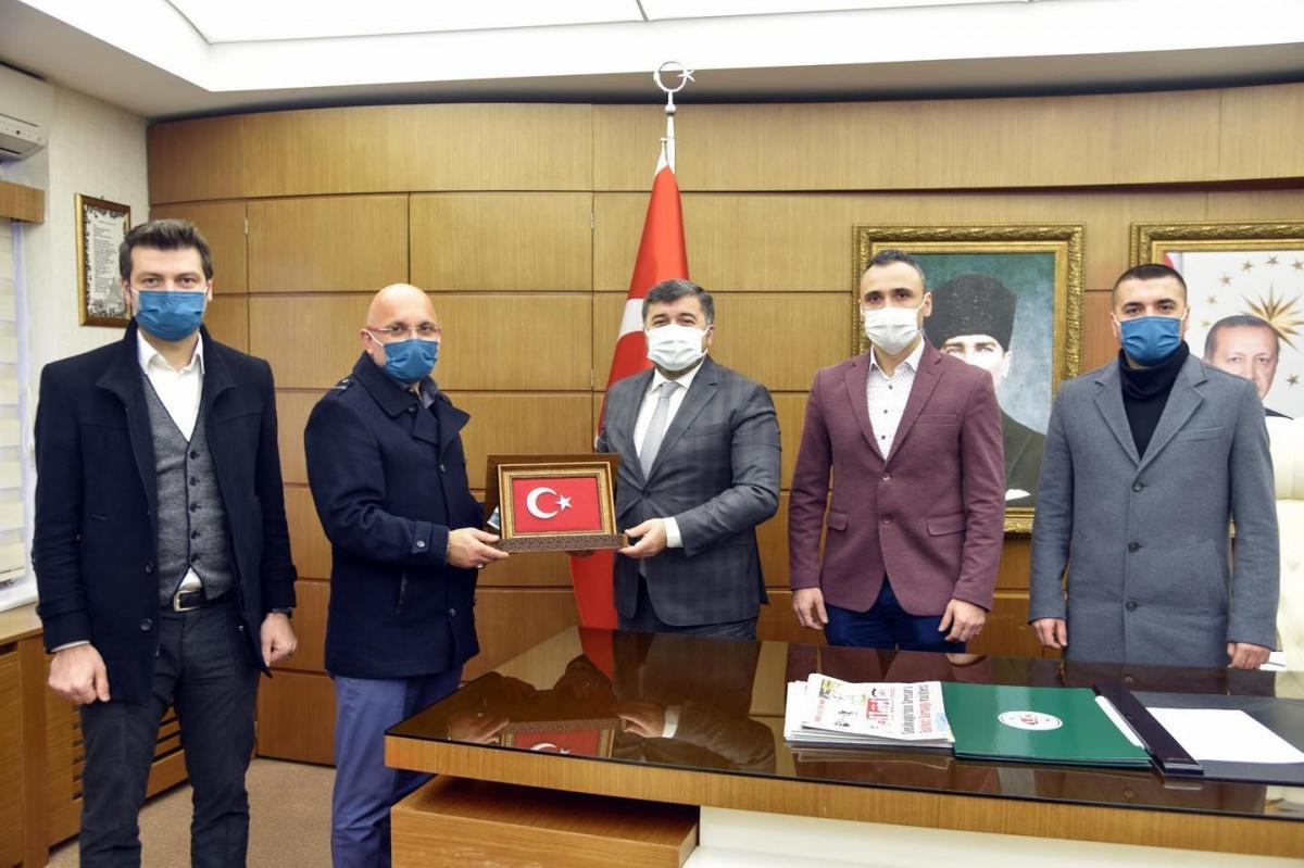 Giresun İl Başkanlığımızdan Belediye Başkanı Şenlikoğlu'na Ziyaret