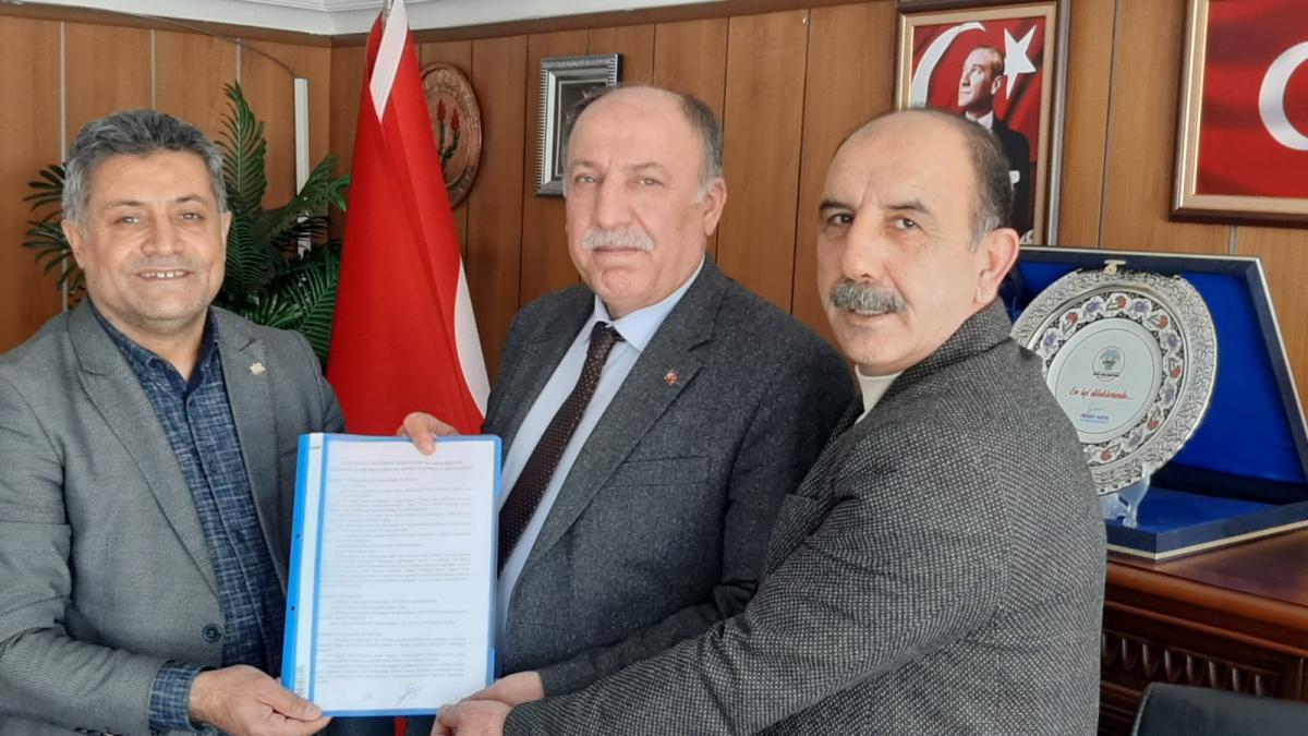 Muş-Karaağaçlı Belediyesi ile SDS İmzaladık