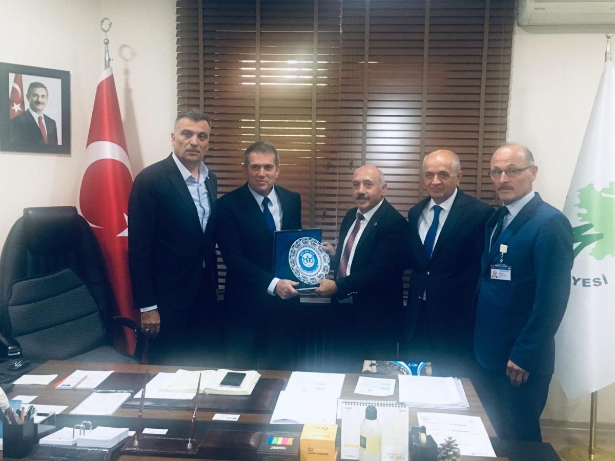 Ankara 1 No'lu Şubemizde Mamak Belediyesi Başkan Yardımcılarına Ziyaret