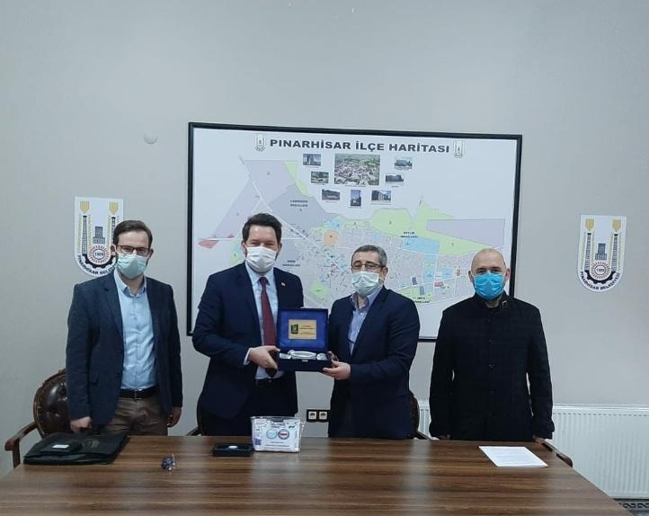 Kırklareli-Pınarhisar Belediyesi ile SDS İmzaladık