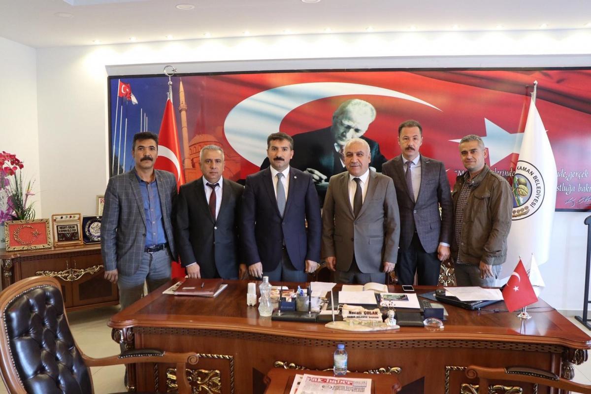 Kırşehir İl Başkanımız Doğan, Kaman Belediyesi ile SDS İmzaladı, Teşkilat Çalışmalarında Bulundu