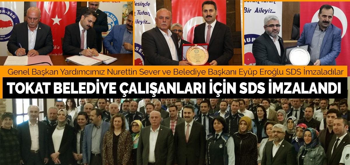 Tokat Belediye Çalışanları İçin Sds İmzalandı