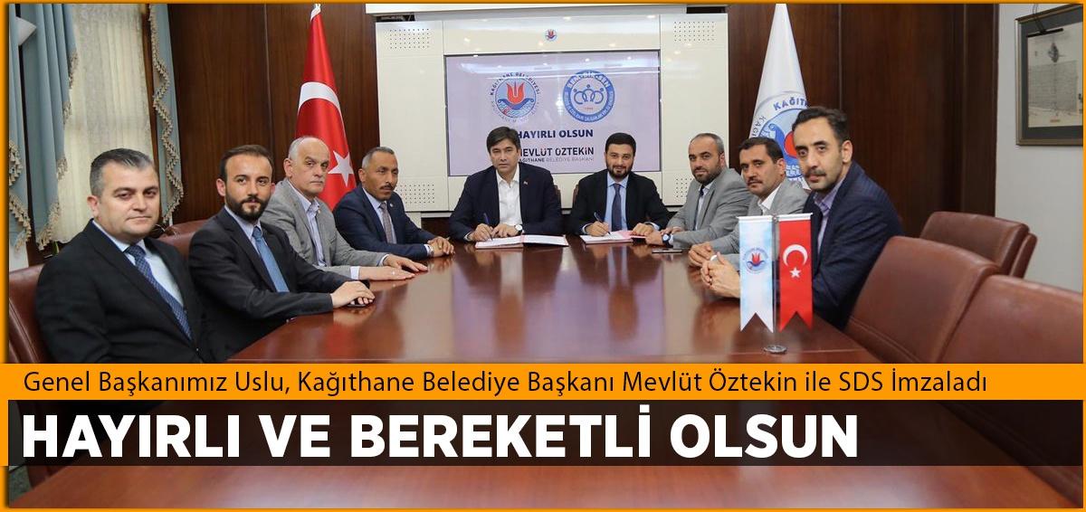 Kağıthane Belediyesi ile SDS İmzaladık
