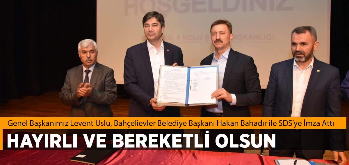 Bahçelievler Belediyesi ile Sosyal Denge Sözleşmesi İmzaladı