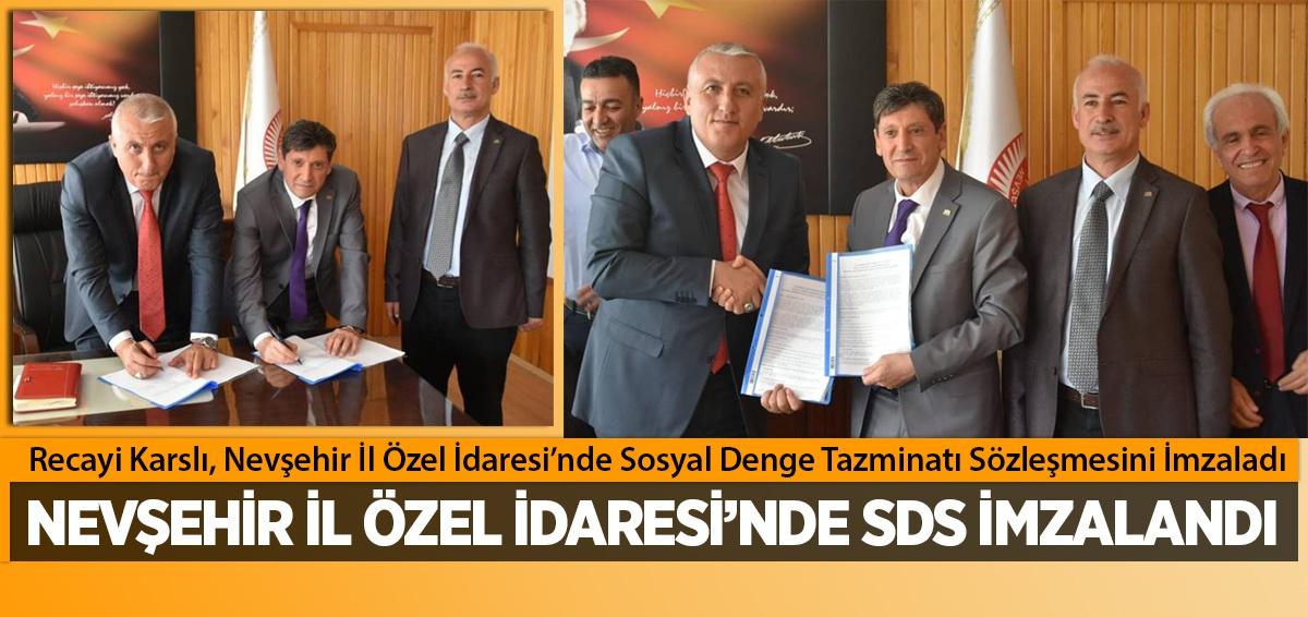 Nevşehir İl Özel İdaresi ile SDS imzaladık