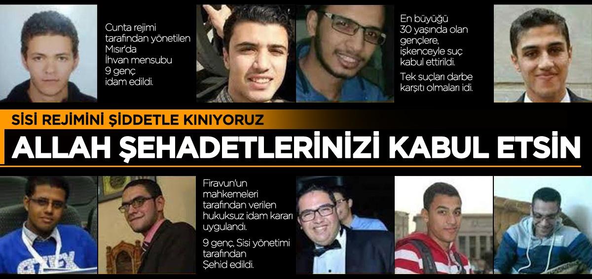 Genel Başkanımız Levent Uslu'dan Mısır'daki idamlara sert kınama!