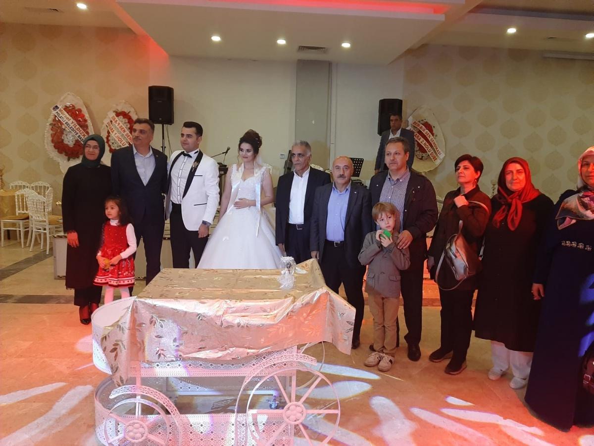 Ankara 1'No'lu Şube Başkanımız Feridun Güneş, Keçiören Belediyesi İşyeri Temsilcimiz Ferit Öztürk'ün Oğlunun Düğün Merasimine Katıldı