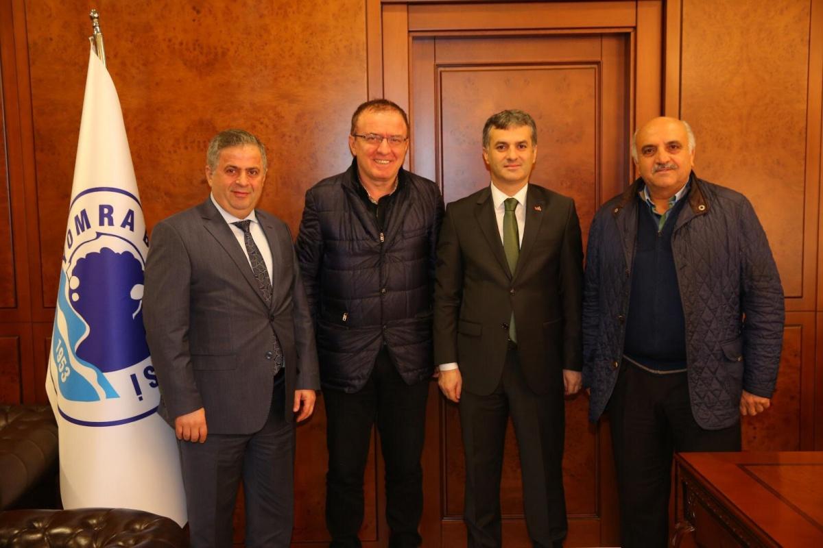Trabzon İl Başkanımız Şahin, Hayrat Belediyesi ile SDS Törenine Katıldı, Yomra Belediye Başkanını Ziyaret Etti