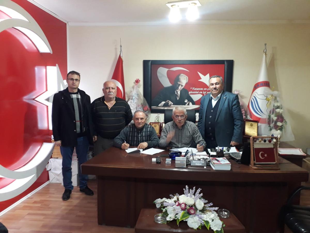 Isparta-Sarıidris Belediyesi ile SDS İmzaladık