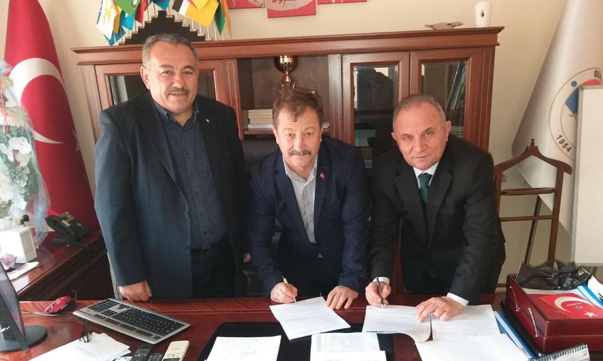 Isparta-Senir Belediyesi ile SDS İmzaladık