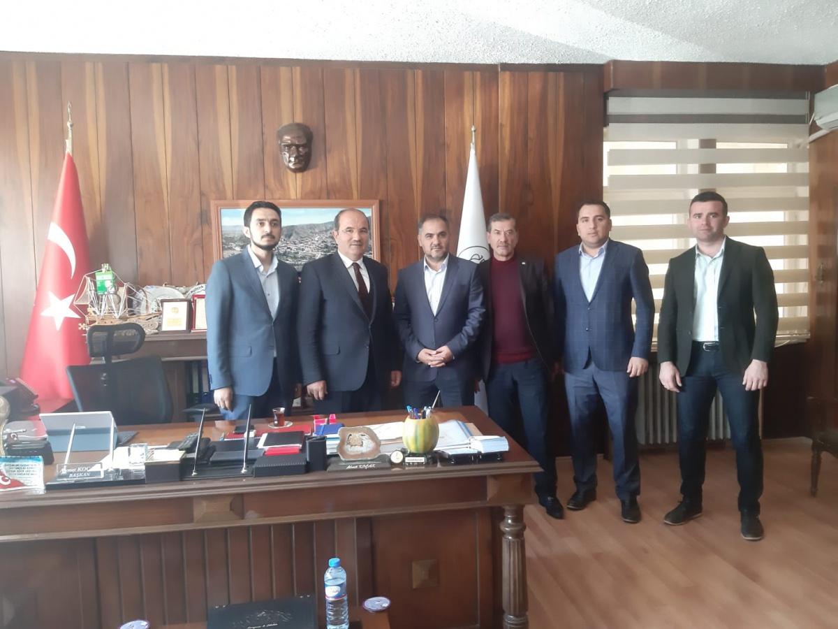 """Yozgat İl Başkanımız Mehmet Şaşmaz """"Hayırlı Olsun"""" Ziyaretleri Yaptı"""