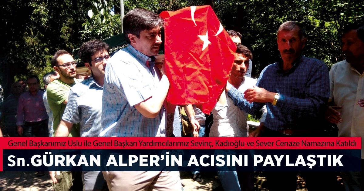 Sn. Gürkan Alper'in Muhterem Babası Rahmeti Rahman'a Kavuştu