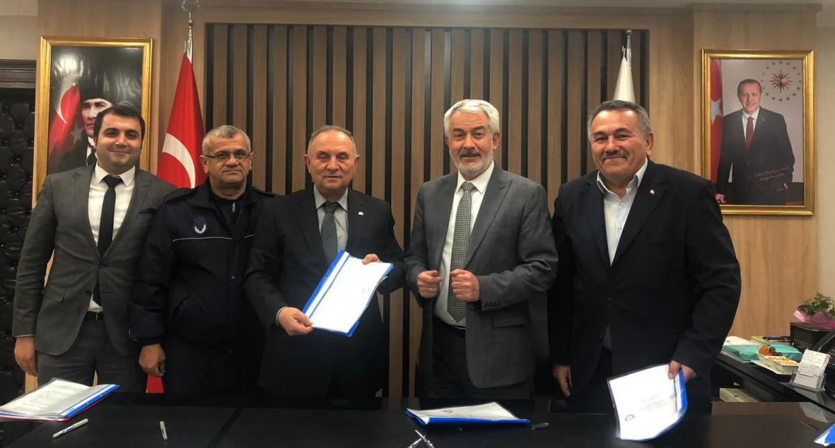 Isparta Belediyesi ile SDS İmzaladık