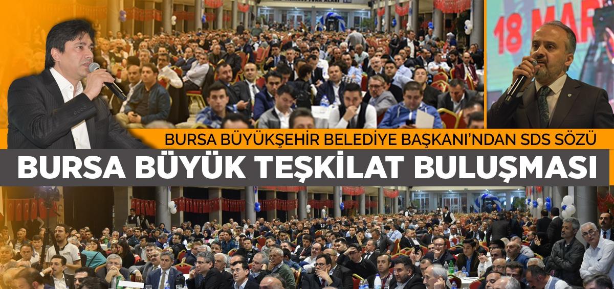 Bursa Büyük Teşkilat Buluşması