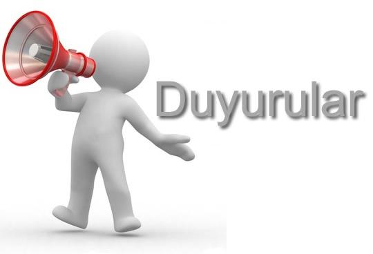 """İstanbul 9 Nolu Şube """"DUYURUSU"""""""