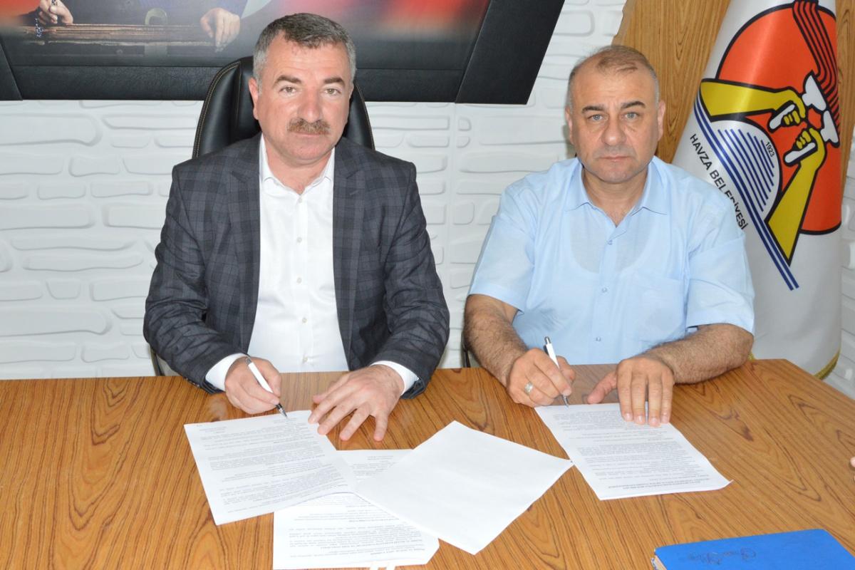 Samsun-Havza Belediyesi ile SDS İmzaladık