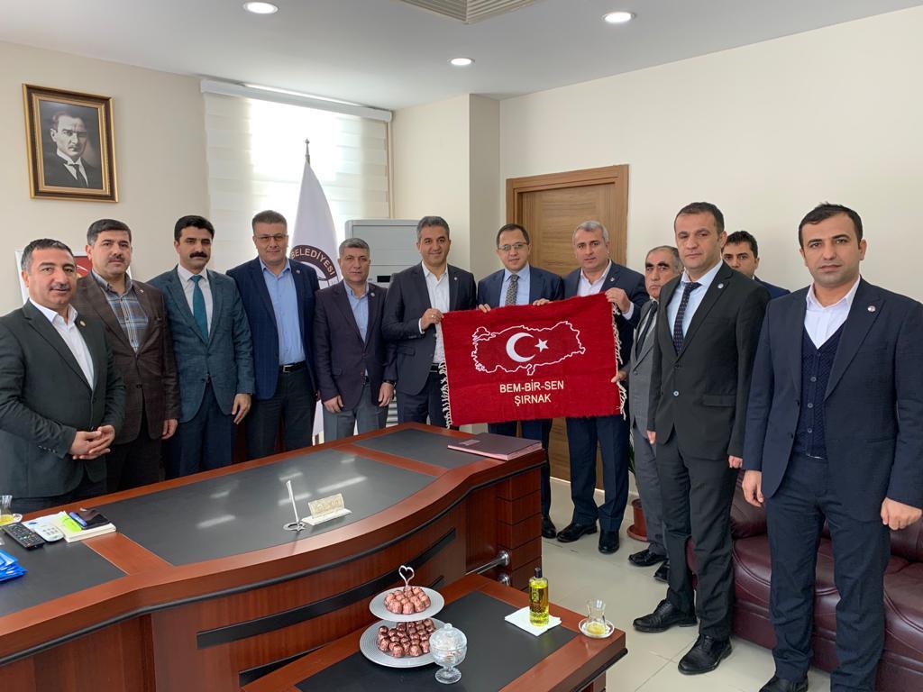 Şırnak-İdil Belediyesi ile SDS İmzaladık