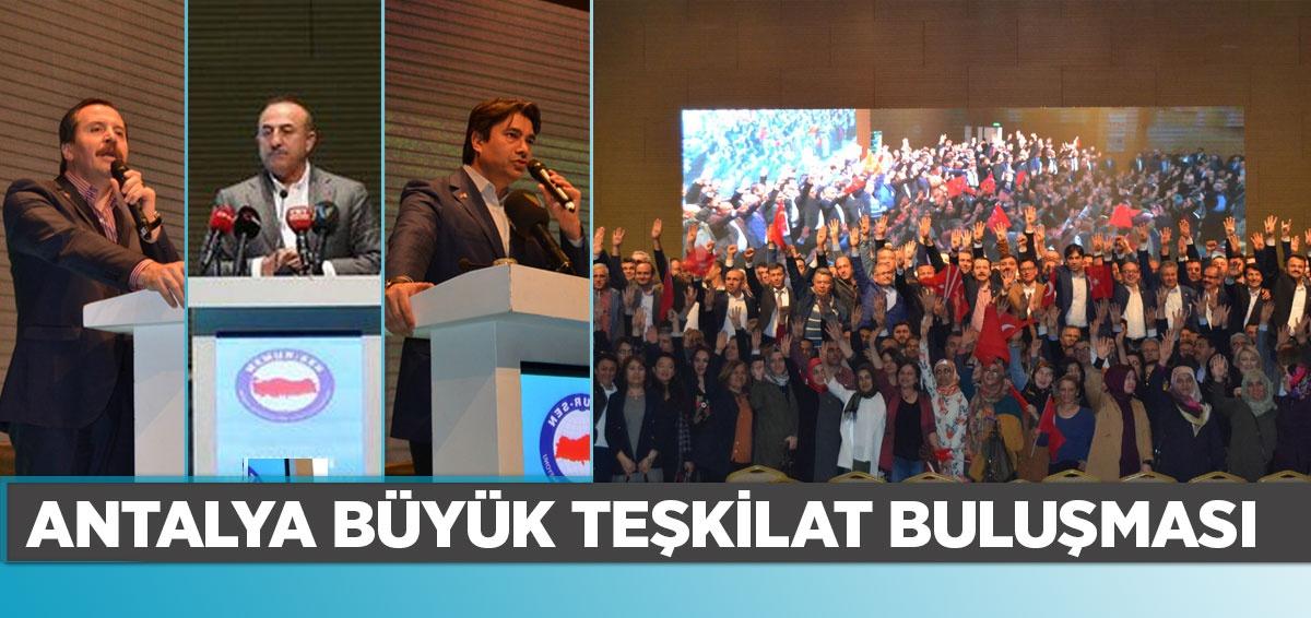 Antalya Büyük Teşkilat Buluşması
