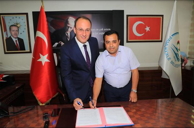 Denizli-Pamukkale Belediyesi ile SDS İmzaladık