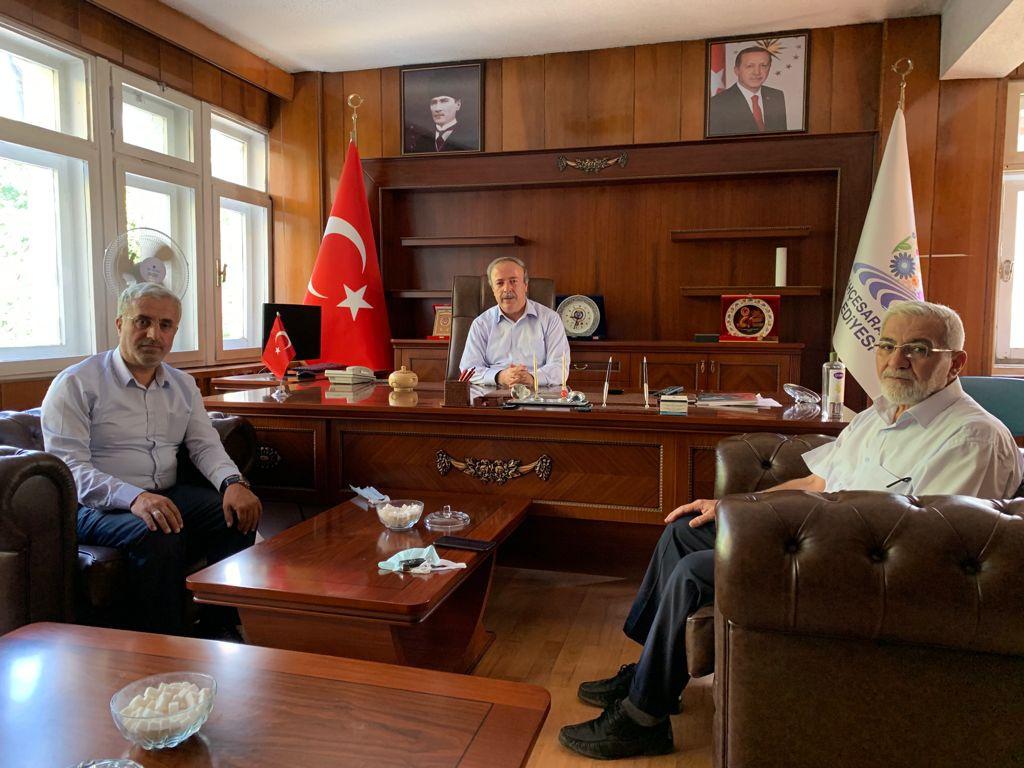 Van Şubemizden Bahçesaray Belediye Başkanı Arvas'a Ziyaret