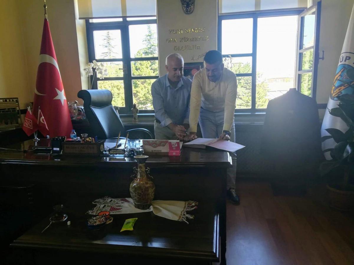 Nevşehir-Ürgüp Belediyesi ile Yüzde Yüz Üzerinden SDS İmzaladık