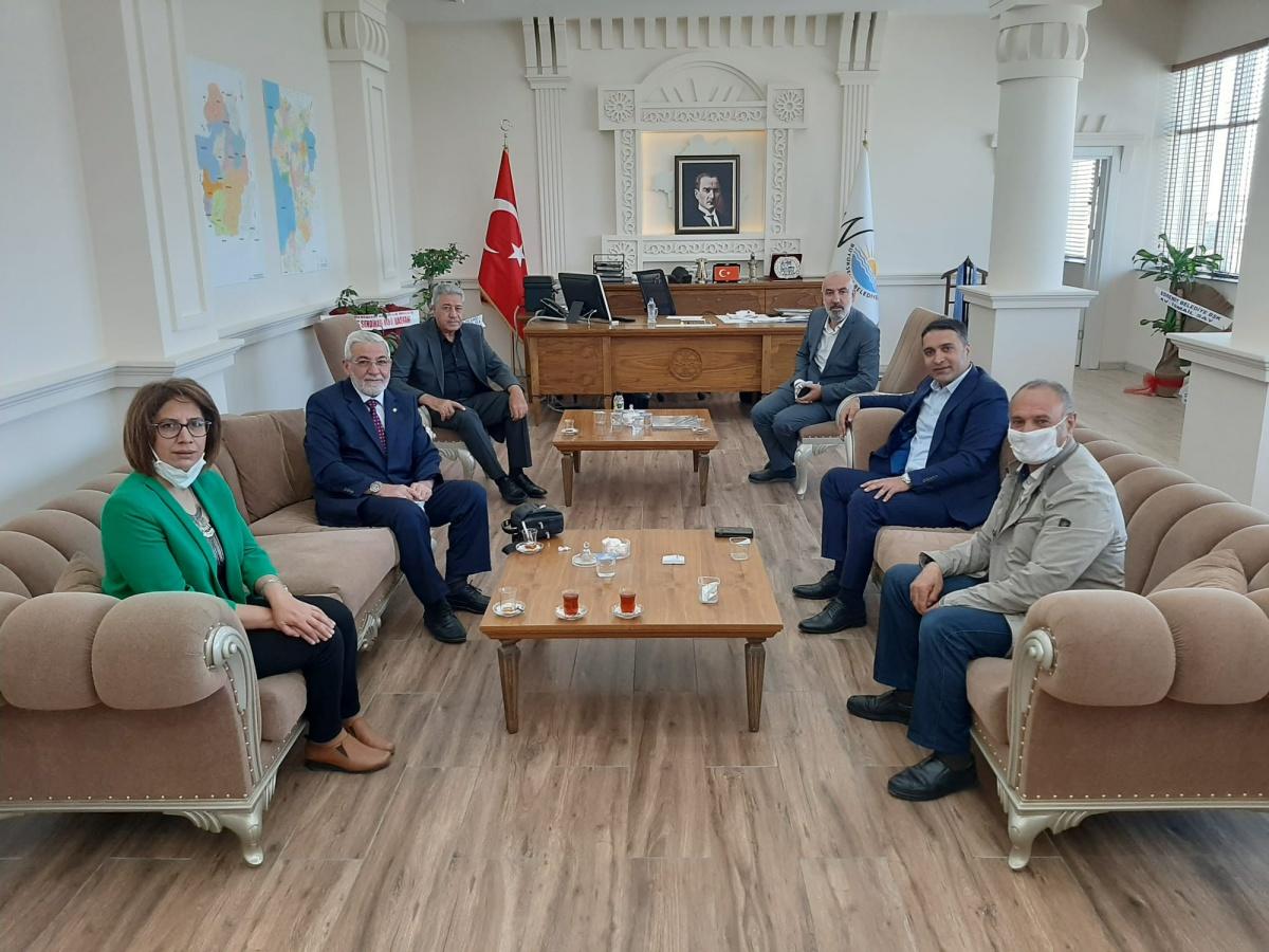 Van Şubemizden, Büyükşehir Belediyesi Genel Sekreteri Çelikel'e 'Hayırlı Olsun' Ziyareti