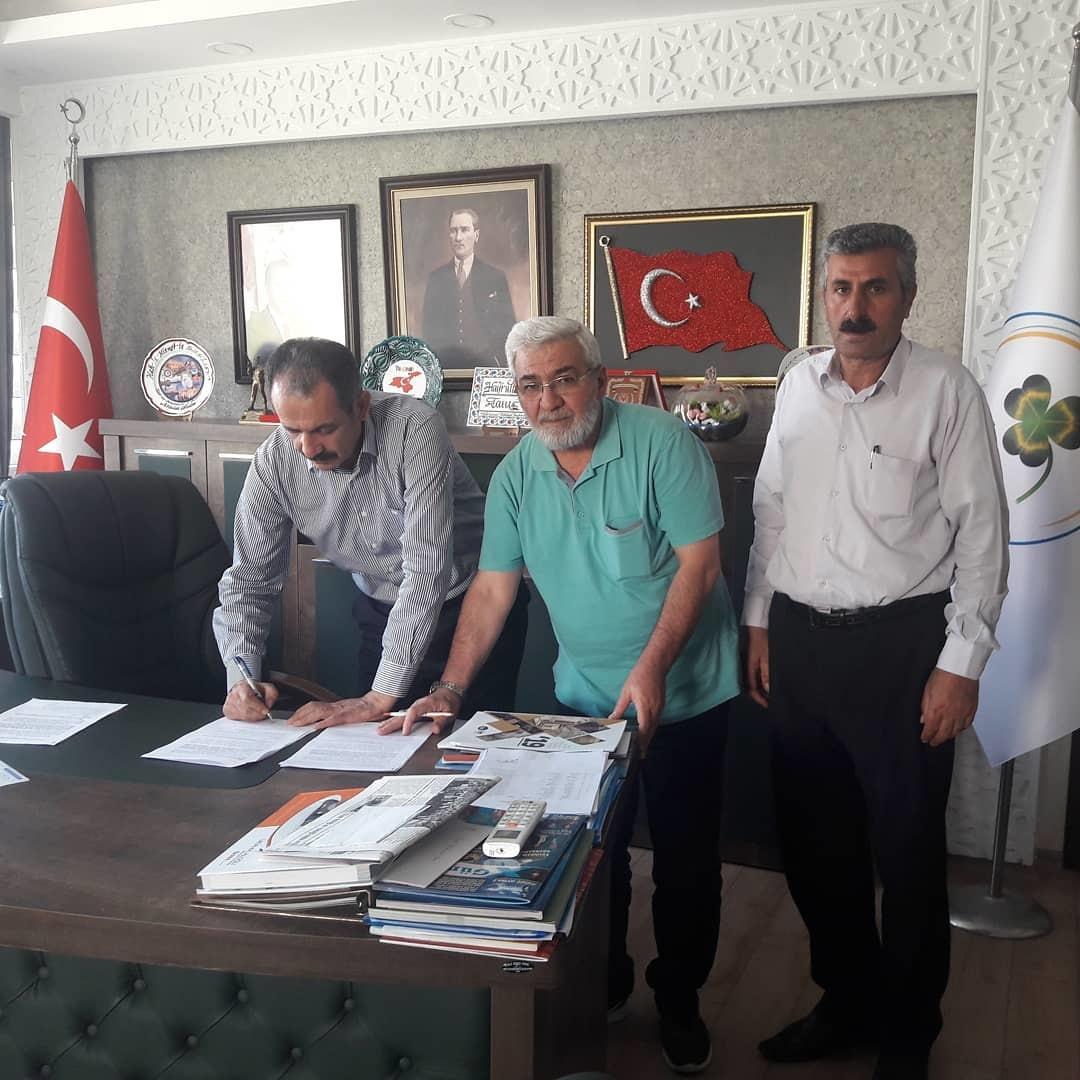 Van-Gürpınar Belediyesi ile SDS İmzaladık