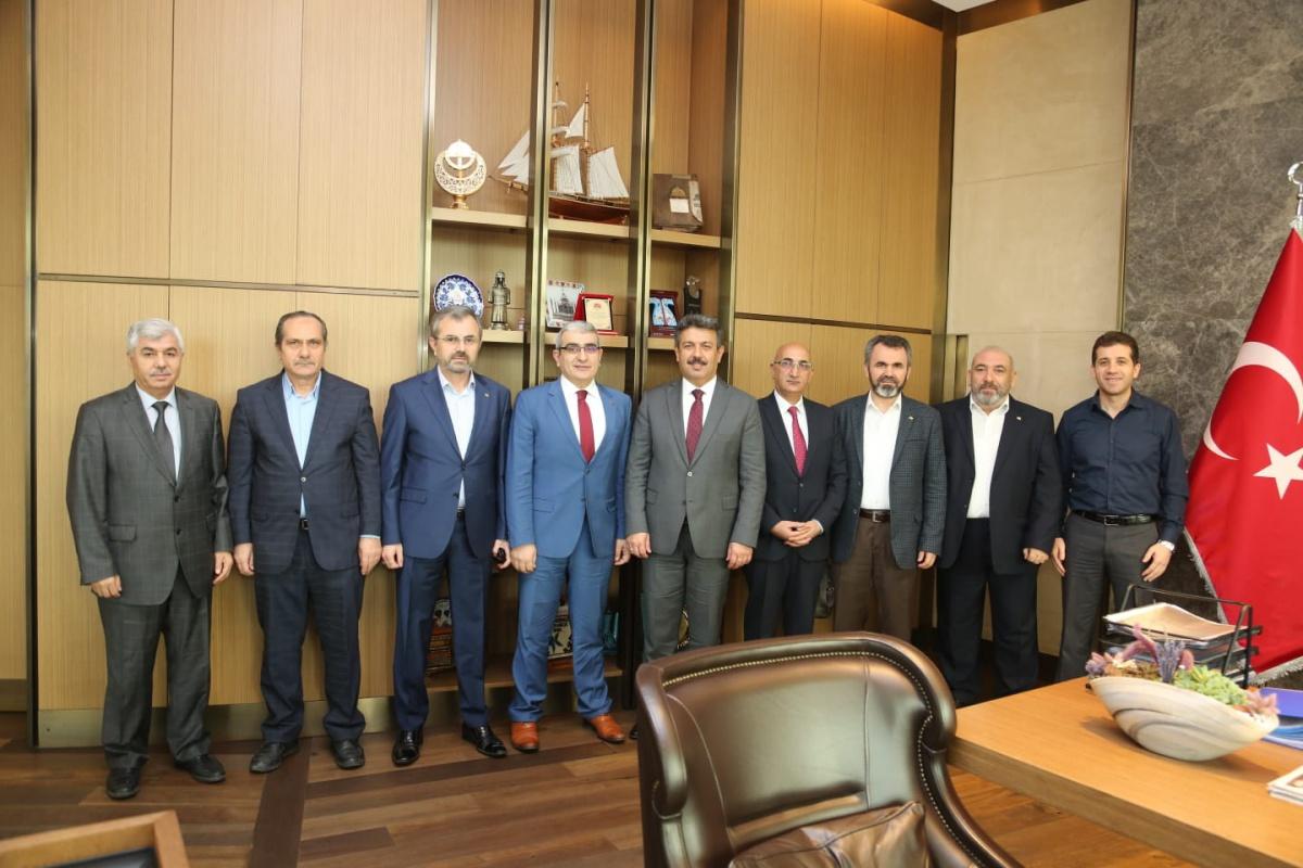 BEM-BİR-SEN 4 Nolu Şubemizden Belediye Başkanlarımıza Ziyaret
