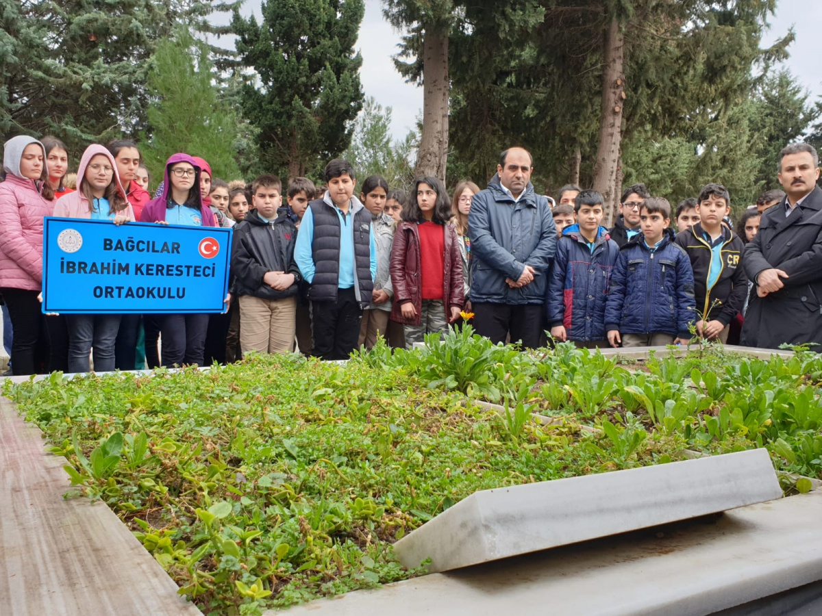 İBRAHİM KERESTECİ, VEFATININ 9. YILINDA BAĞCILAR'DA ANILDI